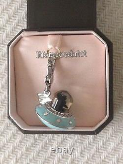 Brand New! Very Rare! Juicy Couture Ufo Yorkie Bracelet Charm In Tagged Box