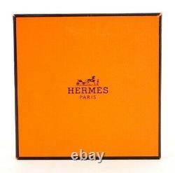 HERMES Blue LES LEOPARDS Tail Print Enamel Bangle Bracelet