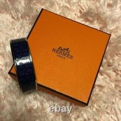 Hermès Balcons du Guadalquivir blue bracelet