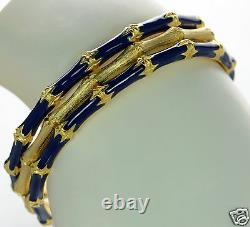 Kenneth J Lane Set of 3 Bamboo Bangle Bracelet
