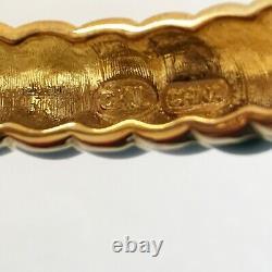 Kenneth Jay Lane's KJL Teal Raj Elephant Limited Edition Bangle Bracelet