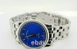 PRE-OWNED Revue Thommen Cricket Blue Enamel LIMITED EDITION 8010008