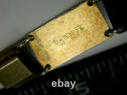 Rare VTG DAVID ANDERSON Norway 925 Sterling Guilloche Blue Enamel Panel Bracelet