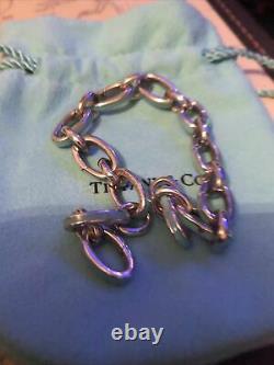 Tiffany & Co Enamel Blue Clasping Bracelet