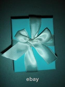 Tiffany & Co Sterling Return To Tiffany Blue Enamel Love Heart Toggle Bracelet 6