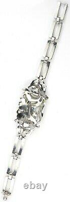Trifari Philippe Rue de la Paix Pale Blue Flower Necklace, Bracelet Earrings Set