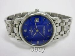 Ulysse Nardin Sanmarco 133-77-9 Automatic Blue Enamel Dial Stainless Men's
